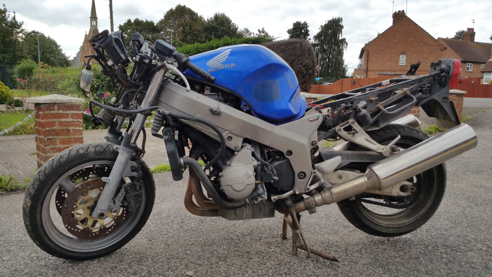 Motorbike Breakers Moped And Scooter Salvage Removal Lincoln Pit Bike